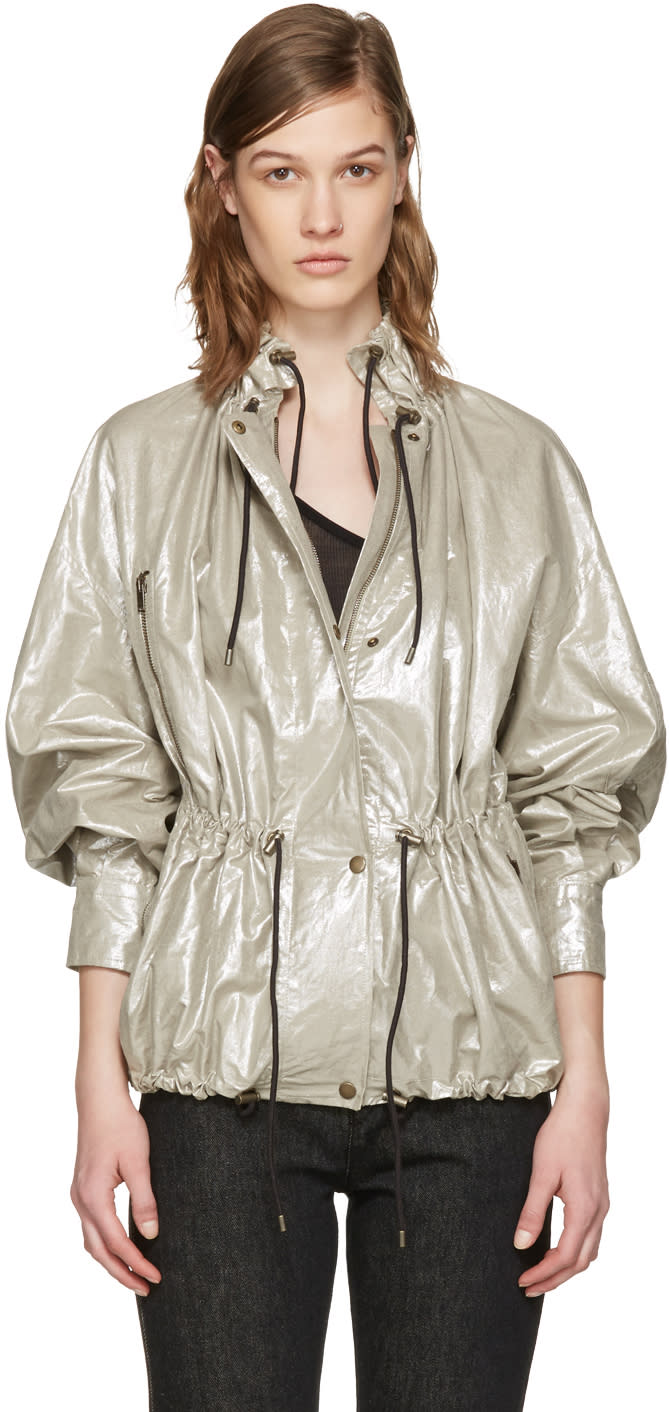 Isabel Marant Silver Lux Jacket