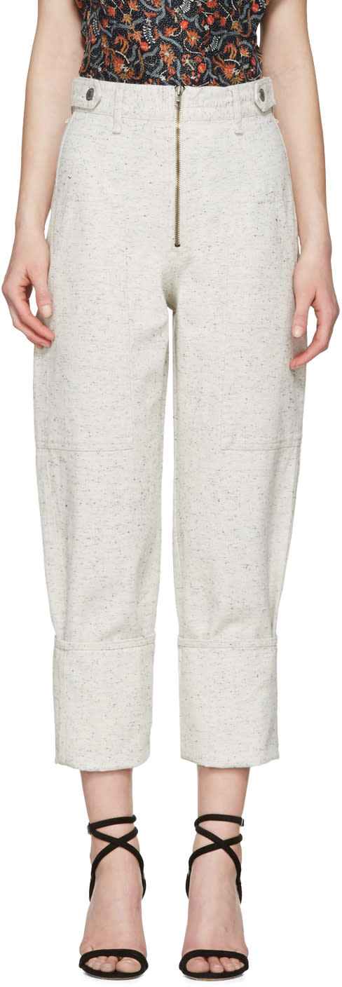 Isabel Marant Off-white Eugenie Jeans