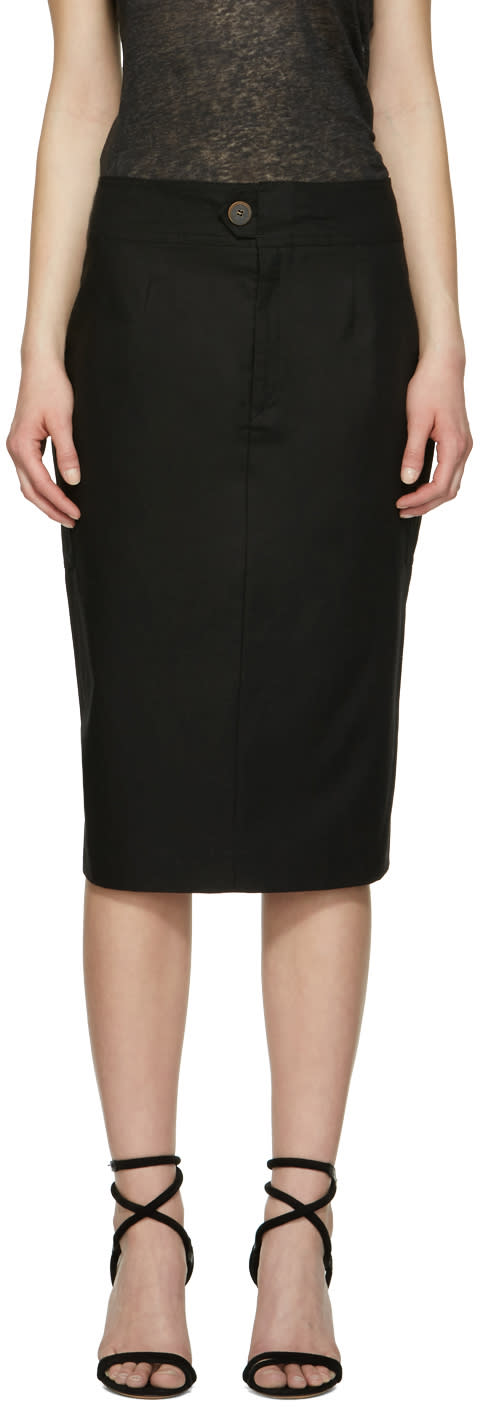 Isabel Marant Black Stanton Skirt