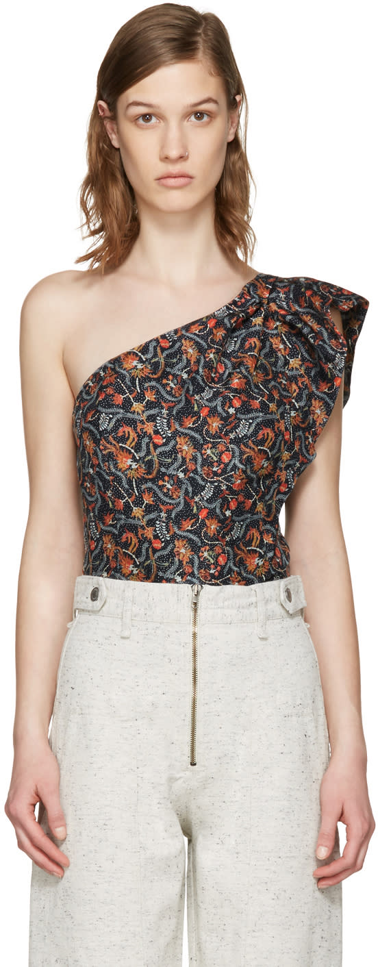 Isabel Marant Multicolor Rowina Blouse
