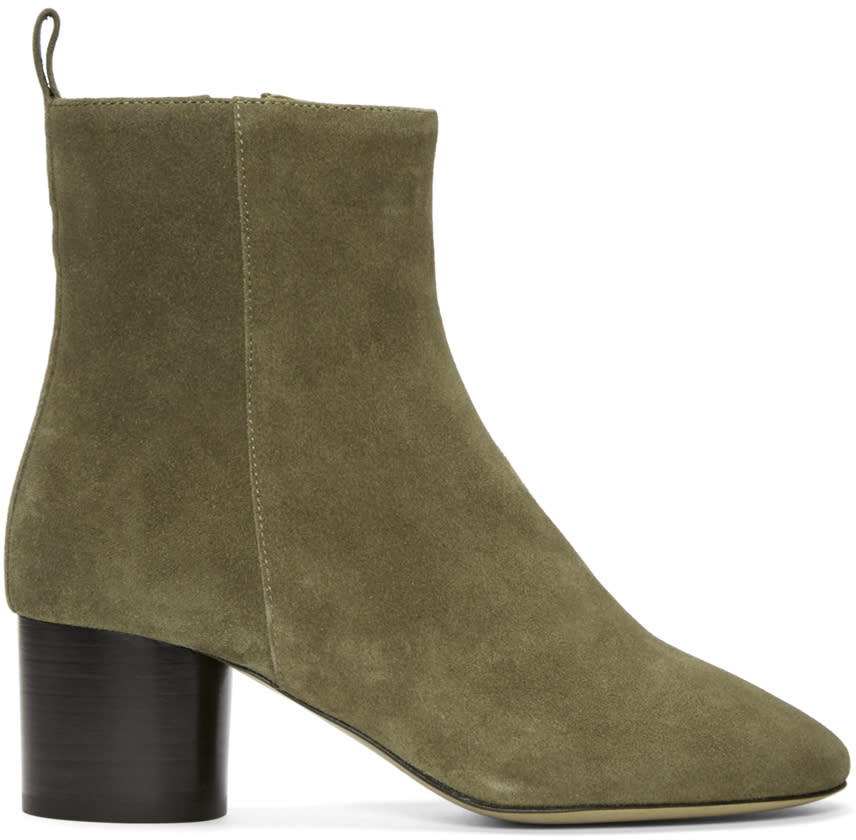 Isabel Marant Brown Suede Deyissa Boots