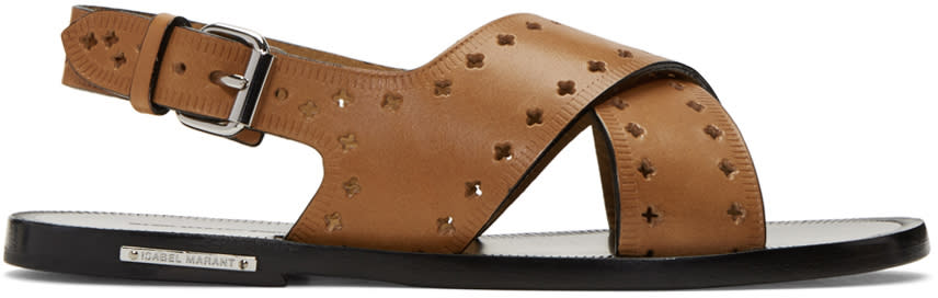 Isabel Marant Brown Jerys Sandals