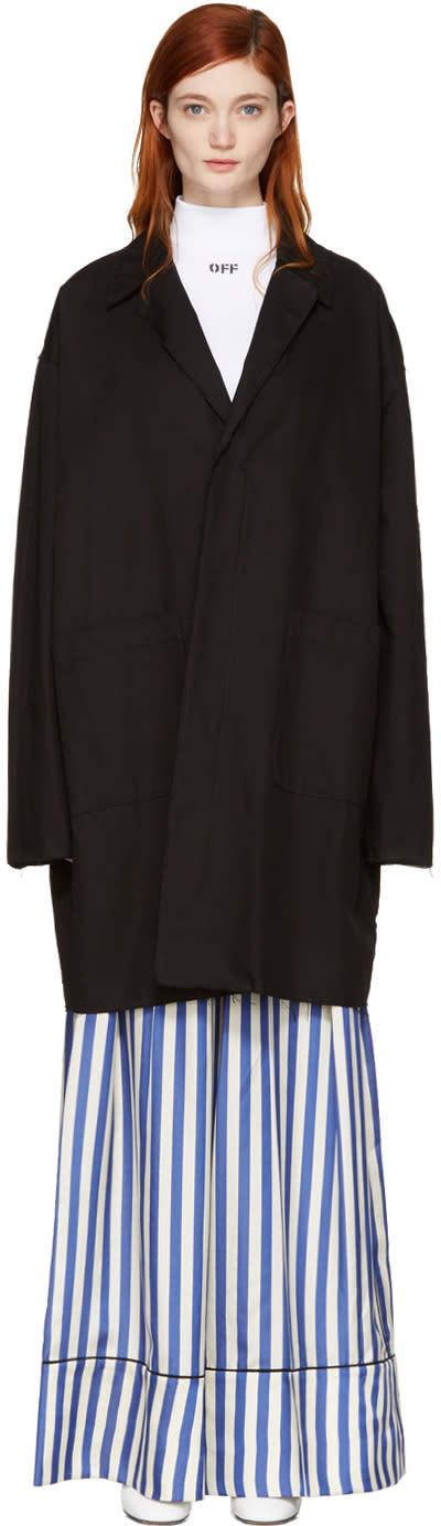Off-white Black Work Coat