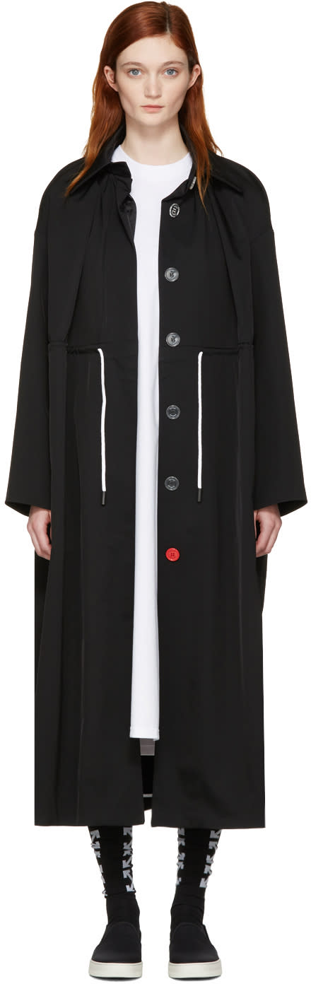 Off-white Black Mackintosh Couture Trench Coat