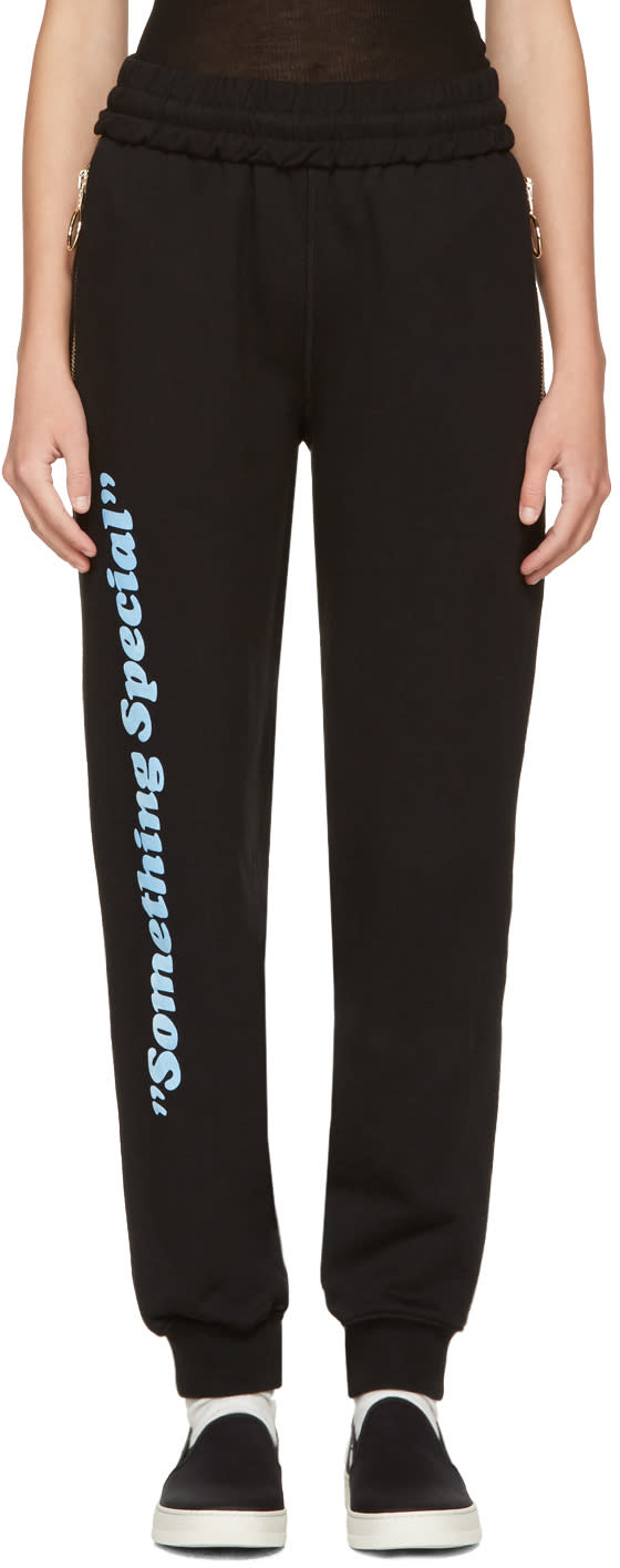 Off-white Black something Special Lounge Pants