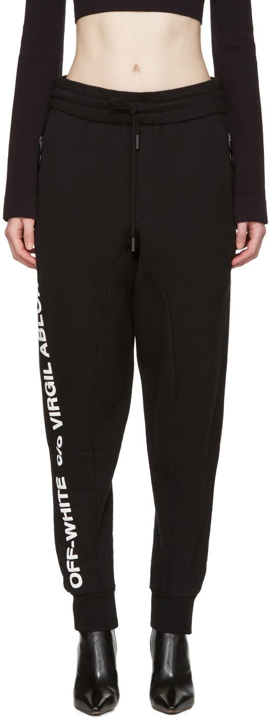 Off-white Black c-o Virgil Abloh Lounge Pants
