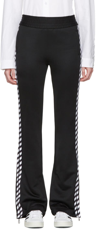 Off-white Black Diagonal Side Track Pants