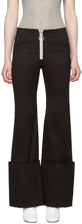 Off-white Black Cuff Trousers