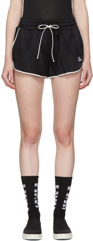 Off-white Black Pyjama Shorts