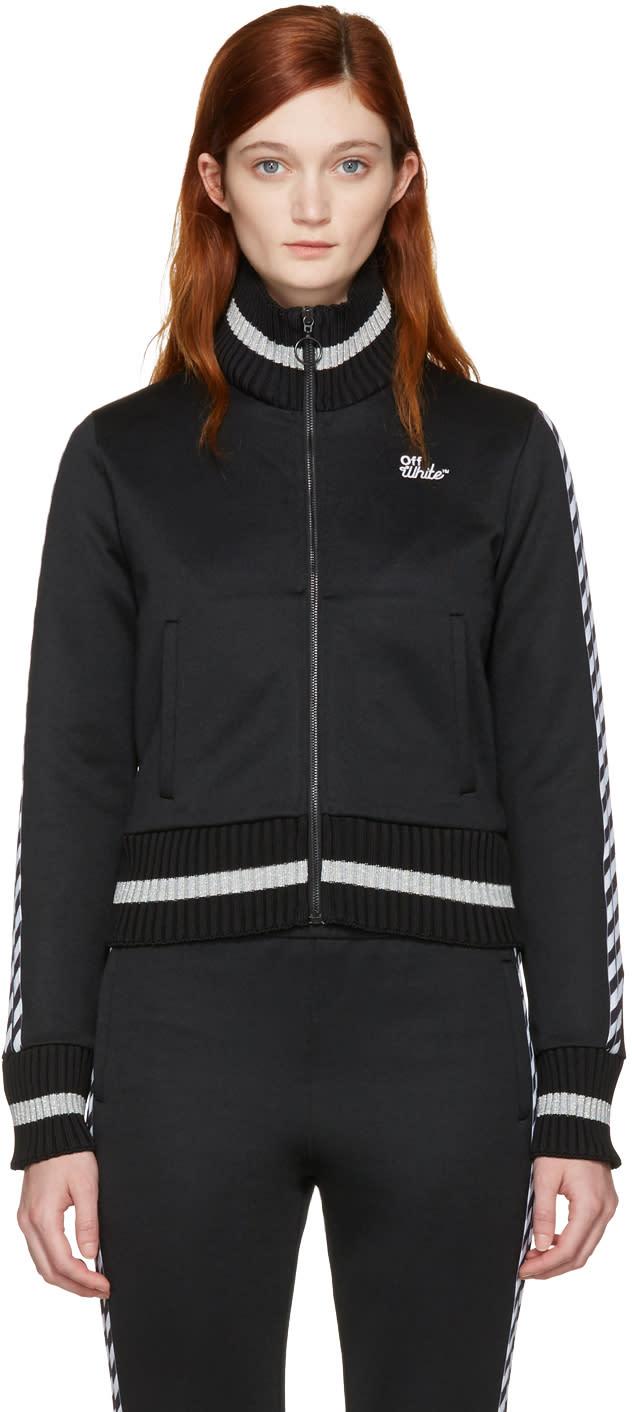 Off-white Black Diagonal woman Track Jacket