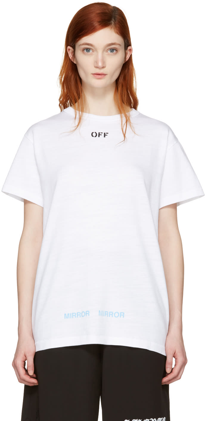 Off-white Black Care off T-shirt