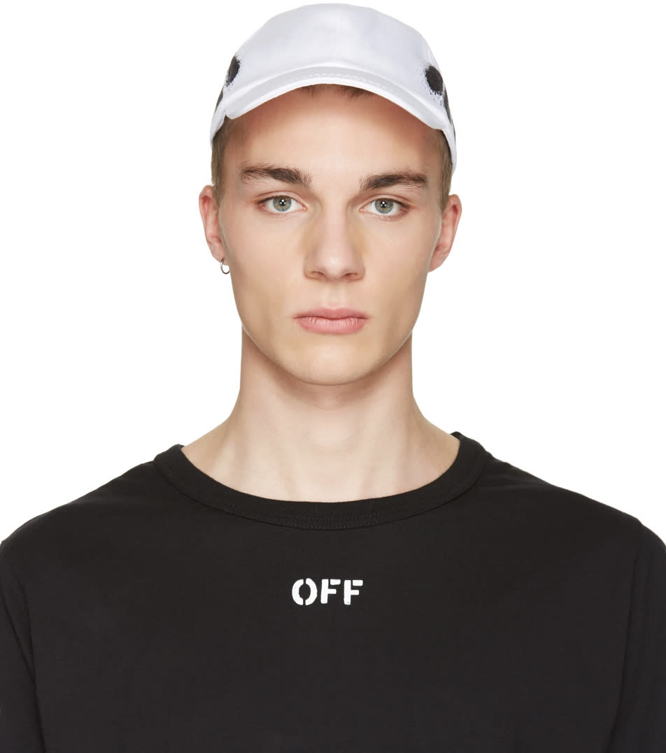 Off-white White Diagonal Spray Cap