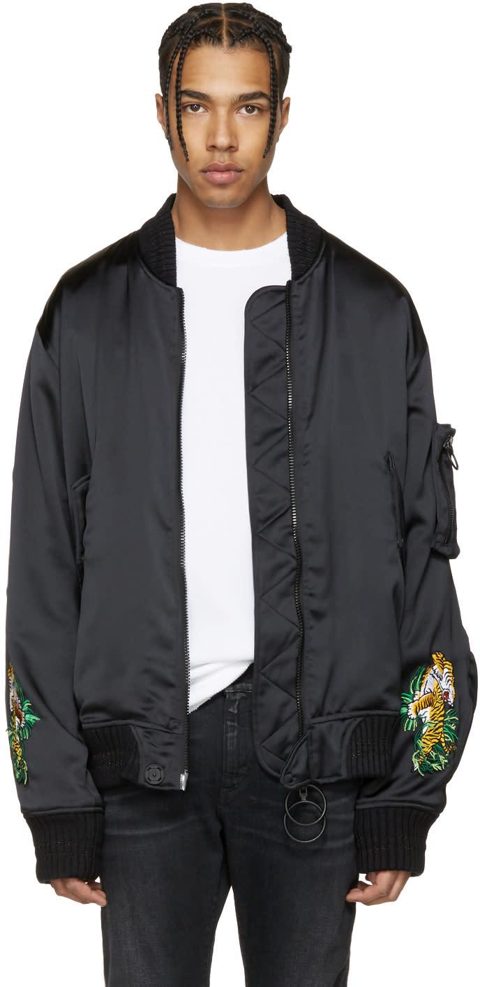 Off-white Black Souvenir Bomber Jacket