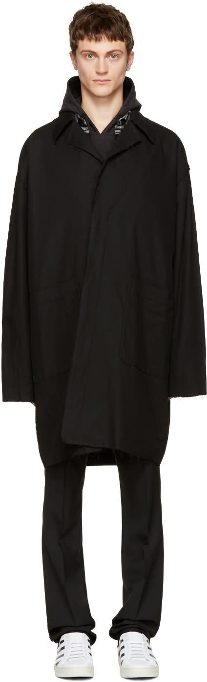 Off-white Black c-o Virgil Abloh Work Coat