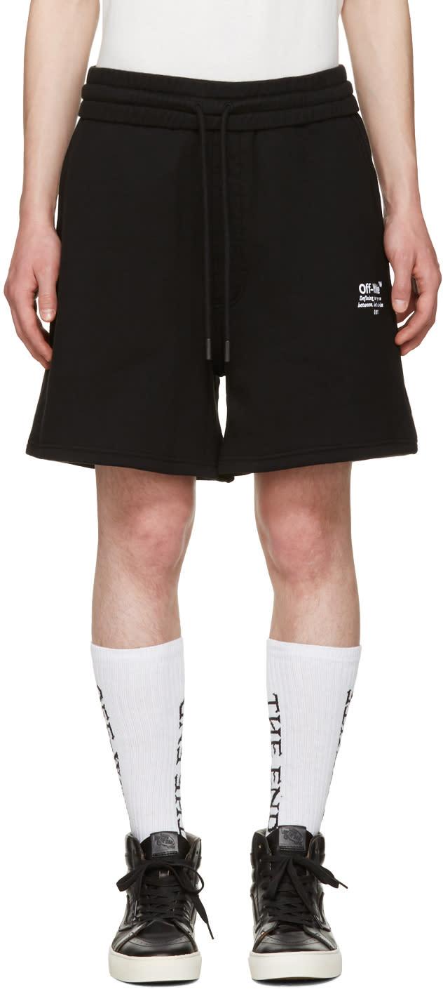 Off-white Black Off Shorts