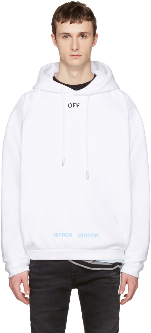 Off-white White off Hoodie