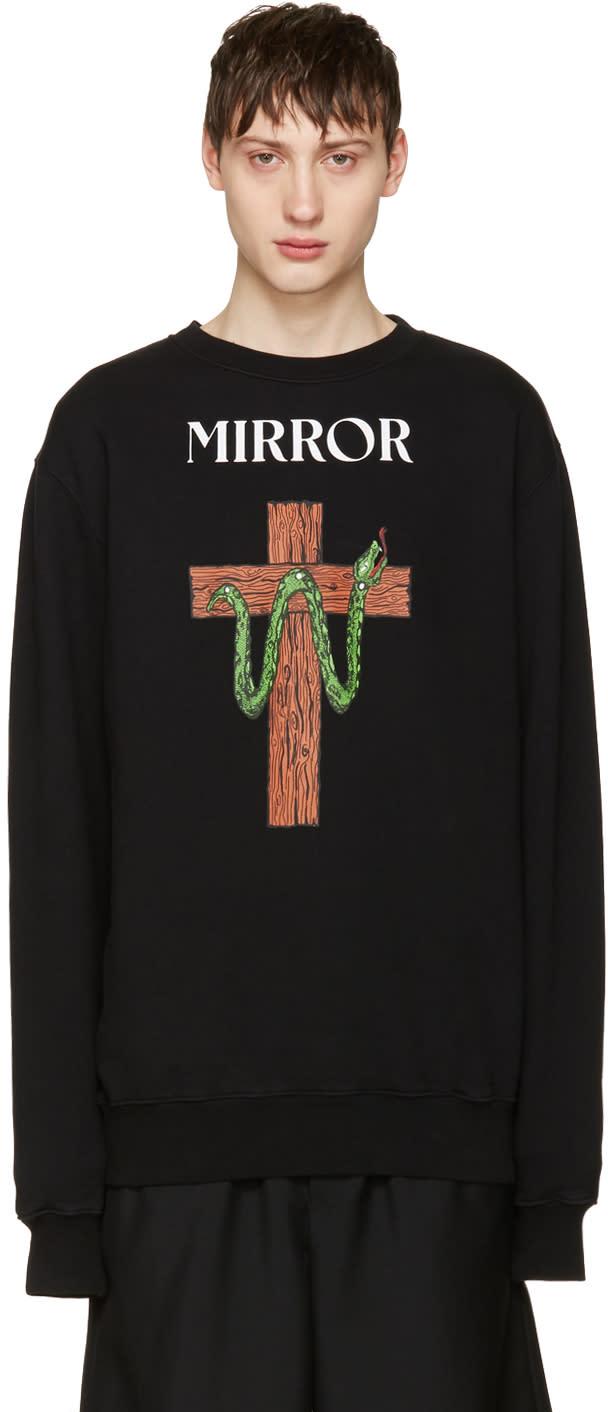 Off-white Black Snake Mirror Pullover