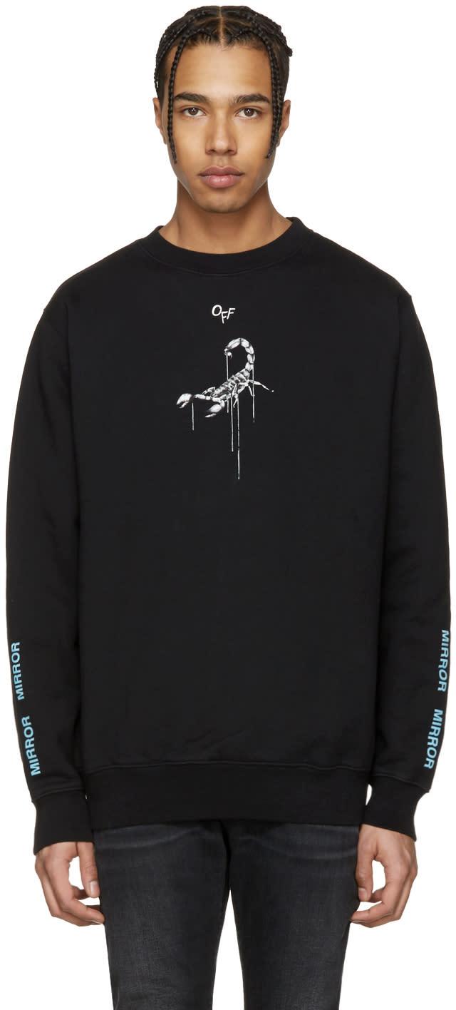 Off-white Black Othelos Scorpion Sweatshirt