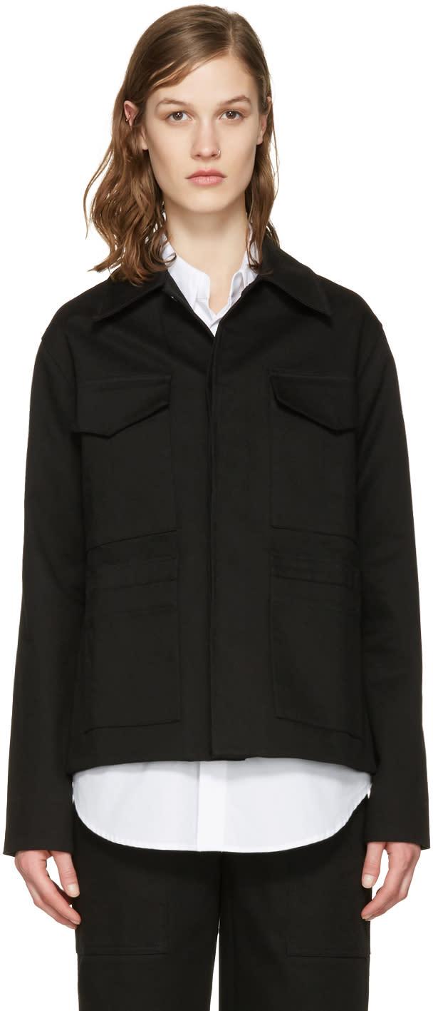 Studio Nicholson Black Twill Nero Jacket