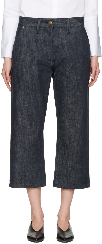Studio Nicholson Indigo Selvedge Krasner Jeans
