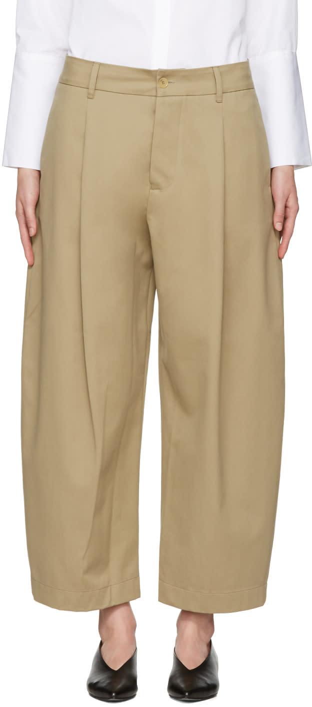 Studio Nicholson Khaki Bonnard Balloon Trousers