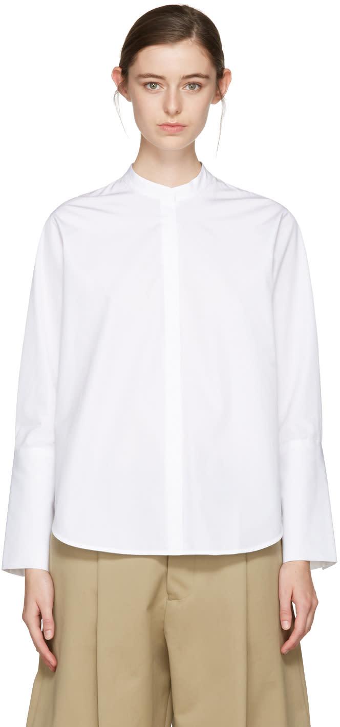 Studio Nicholson White Alonso Noisy Shirt