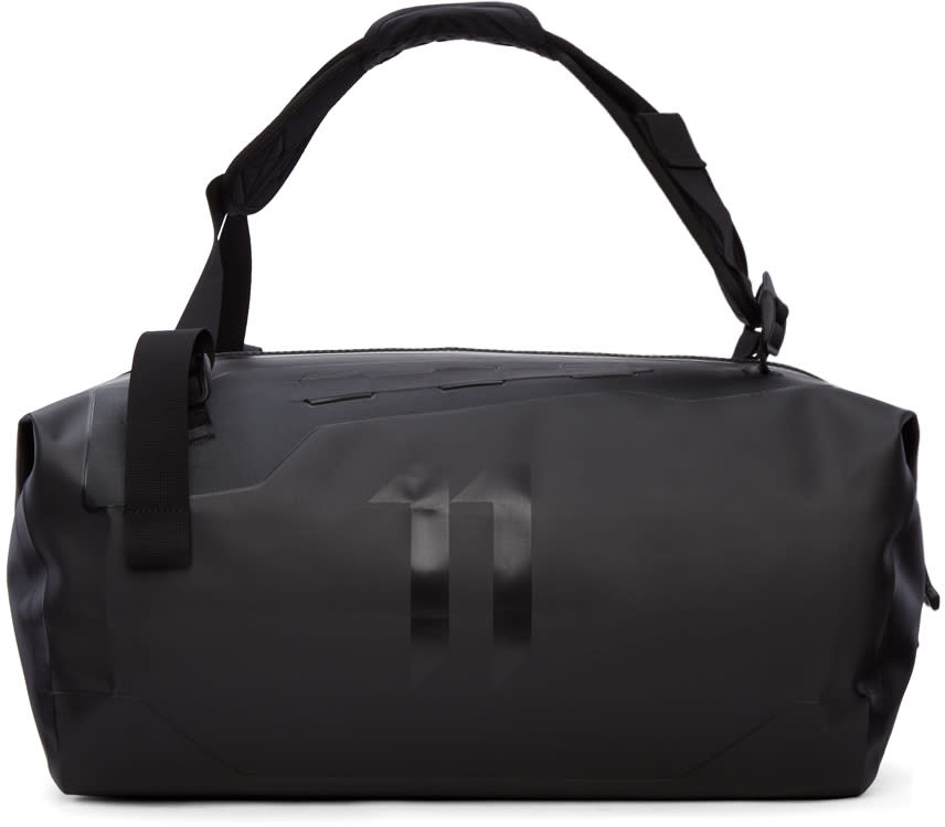 11 By Boris Bidjan Saberi Black Waterproof Duffle Bag