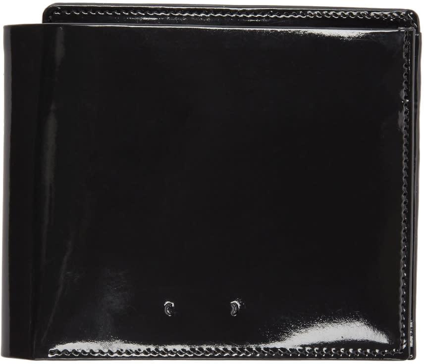 Pb 0110 Black Patent Leather Cm 18 Wallet