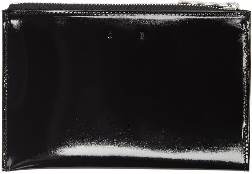 Pb 0110 Black Patent Leather Cm 12 Pouch