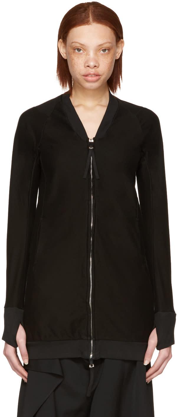 Boris Bidjan Saberi Black W 1 Zip-up Sweater