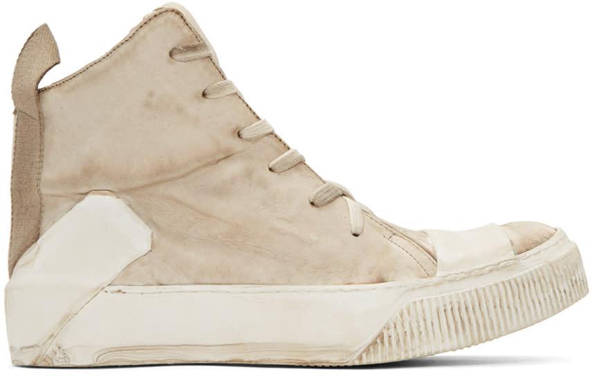 Boris Bidjan Saberi Off-white Bamba 1 High-top Sneakers