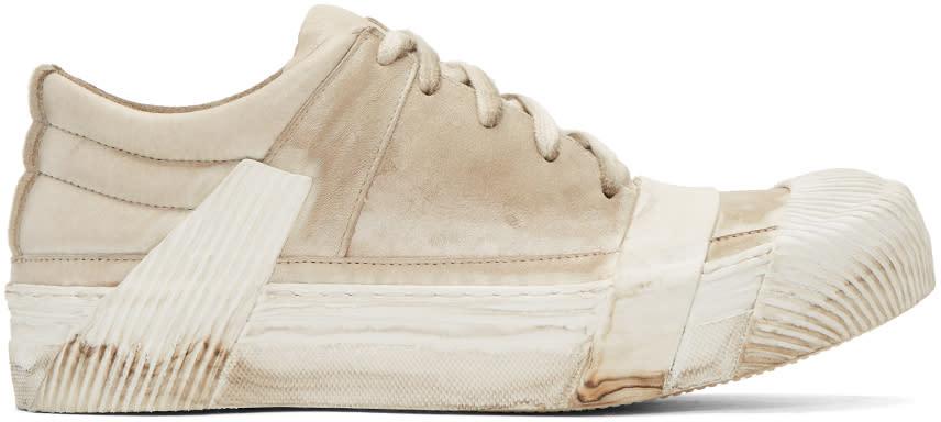 Image of Boris Bidjan Saberi Off-white Bamba 1 Sneakers