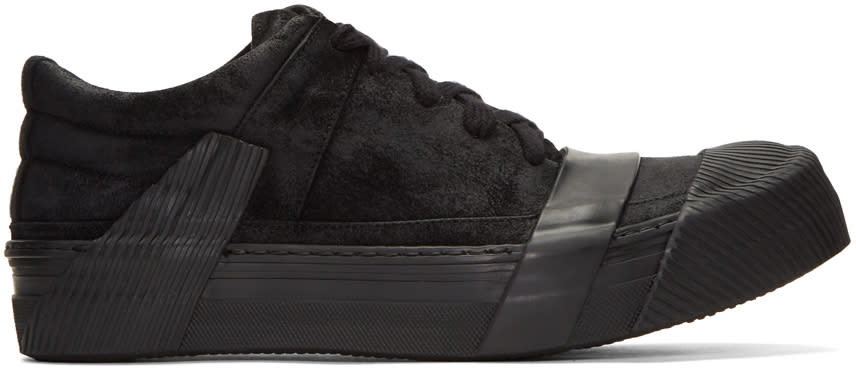 Image of Boris Bidjan Saberi Black Bamba 2 Sneakers