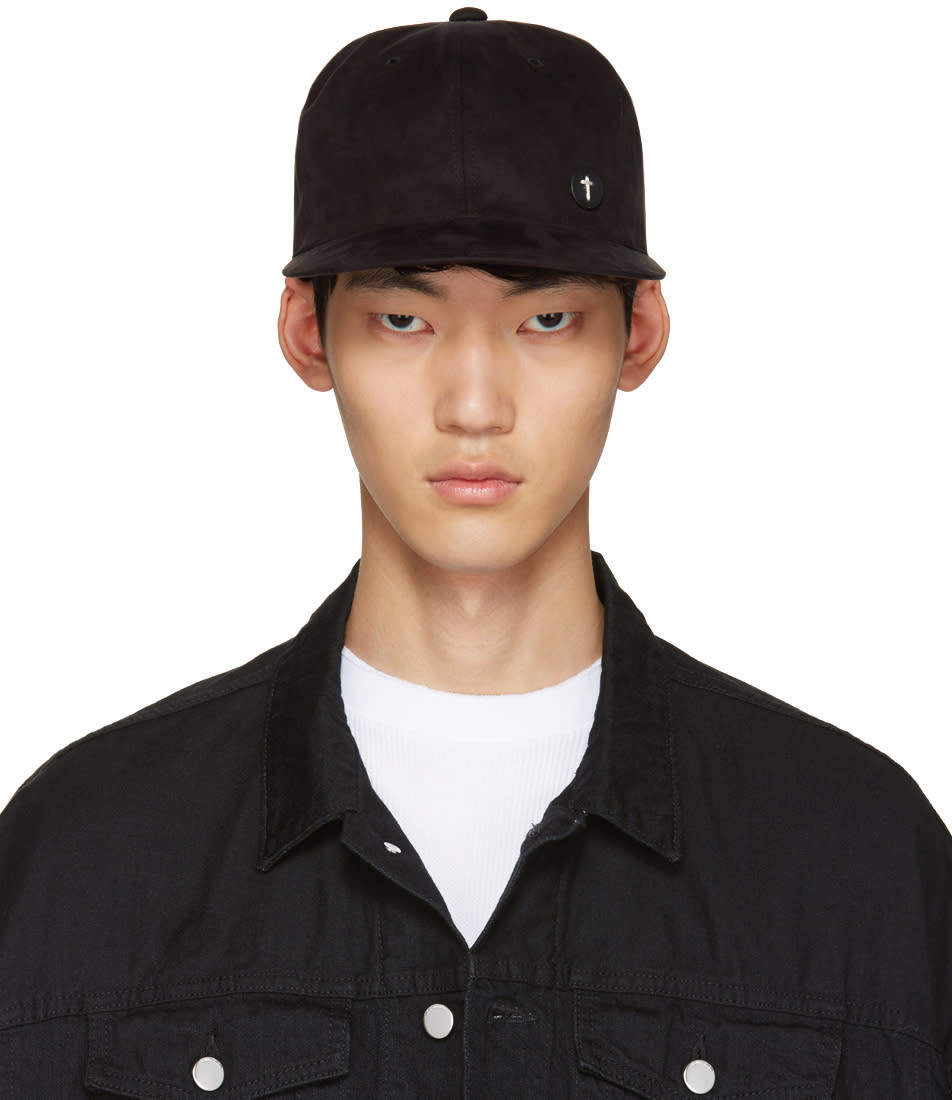 Diet Butcher Slim Skin Black Microsuede Cap