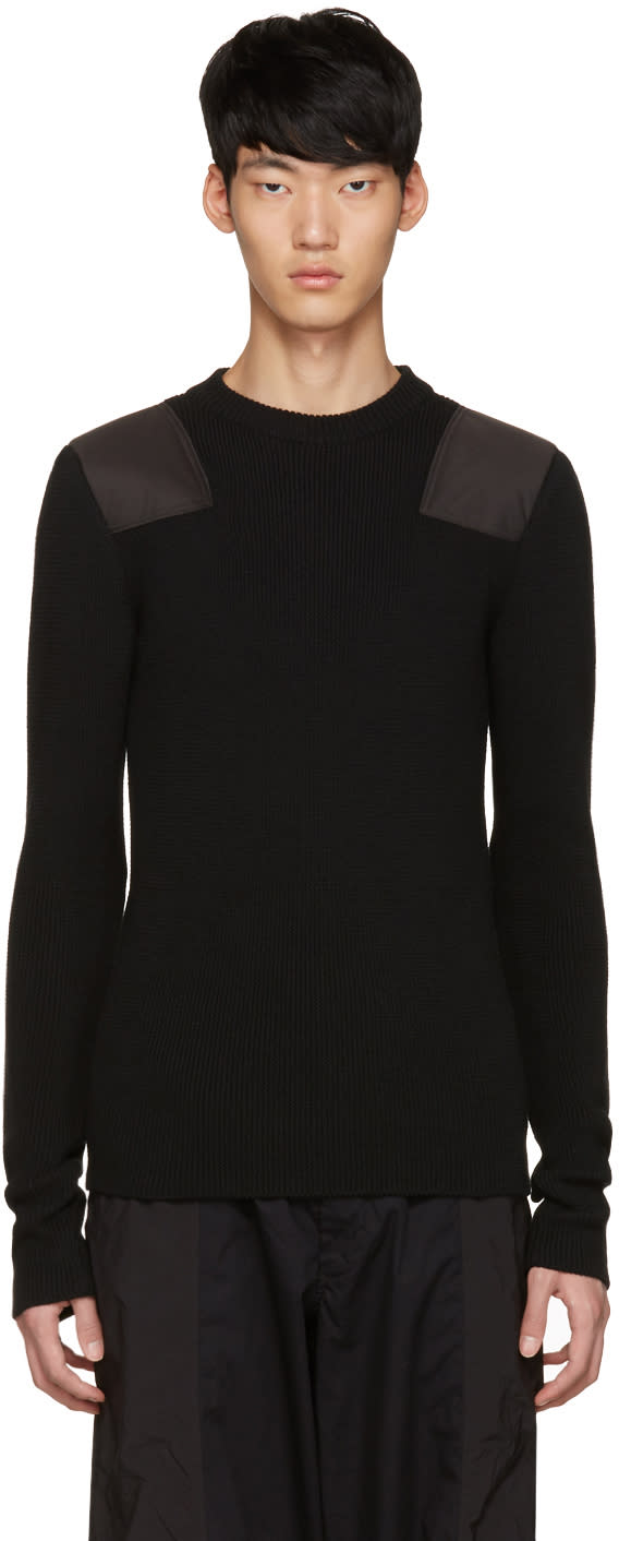 Johnlawrencesullivan Black Patch Sweater
