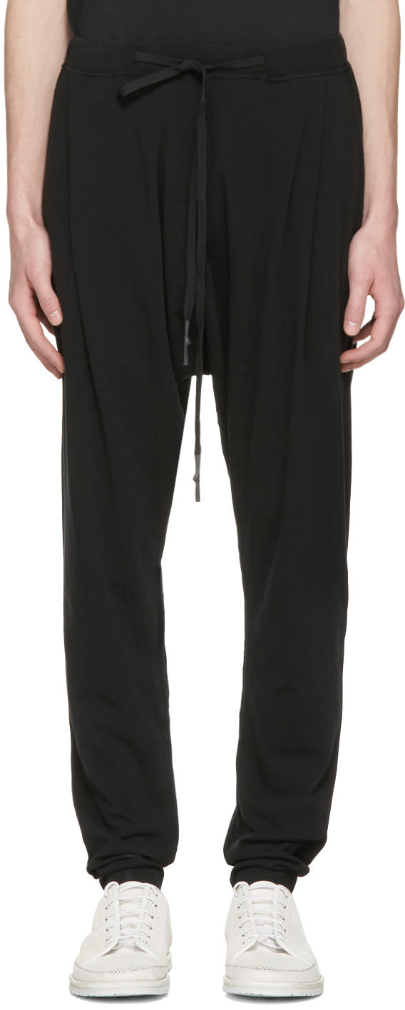 Nude:mm Black Drawstring Lounge Pants
