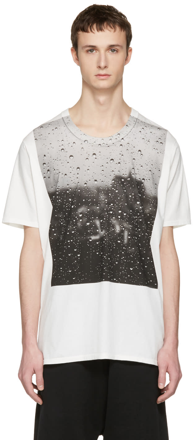 Nude:mm Off-white Rain T-shirt