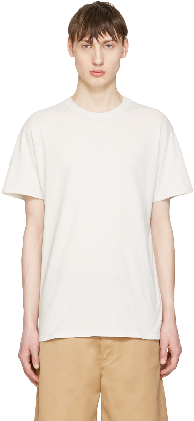Undecorated Man Grey Cotton T-shirt