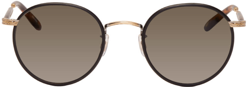 Garrett Leight Black Wilson Sunglasses