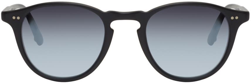 Garrett Leight Black Hampton Sunglasses