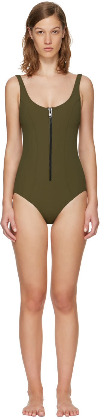 Lisa Marie Fernandez Green Jasmine Swimsuit