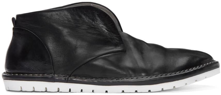 Marsell Gomma Black Sancrispa Boots