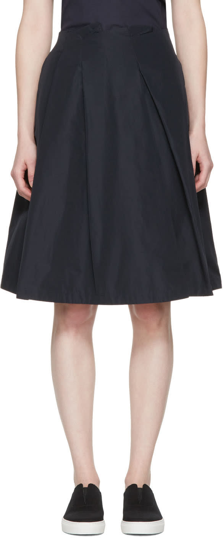 Jil Sander Navy Navy Full Skirt