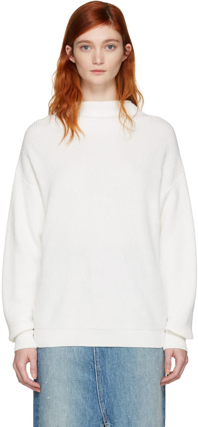 Won Hundred White Catharine Sweater