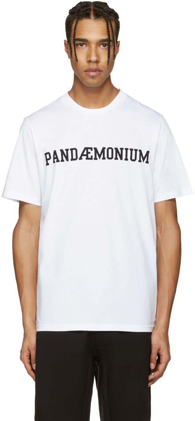 Oamc White pandemonium T-shirt