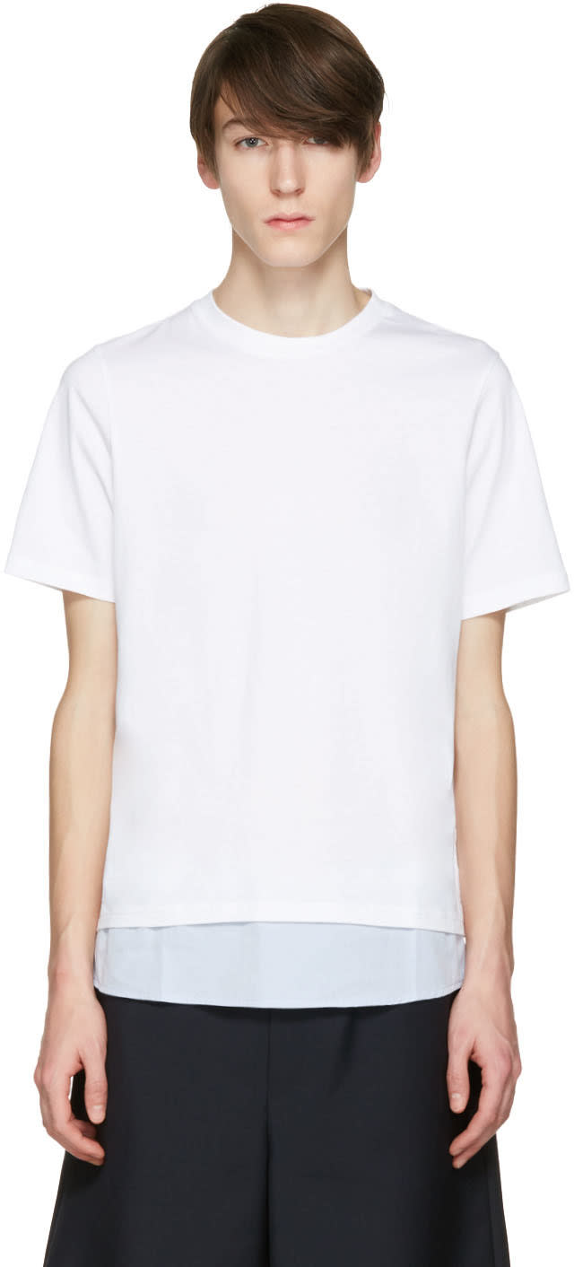 Oamc White Drop T-shirt