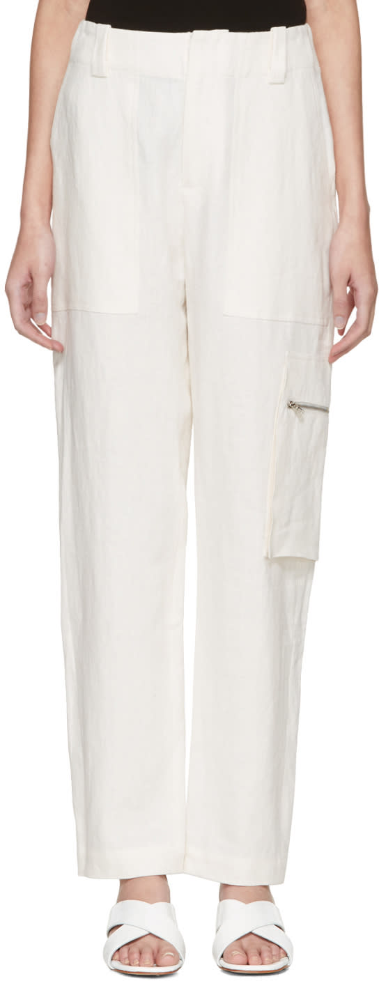Nomia Off-white Field Trousers