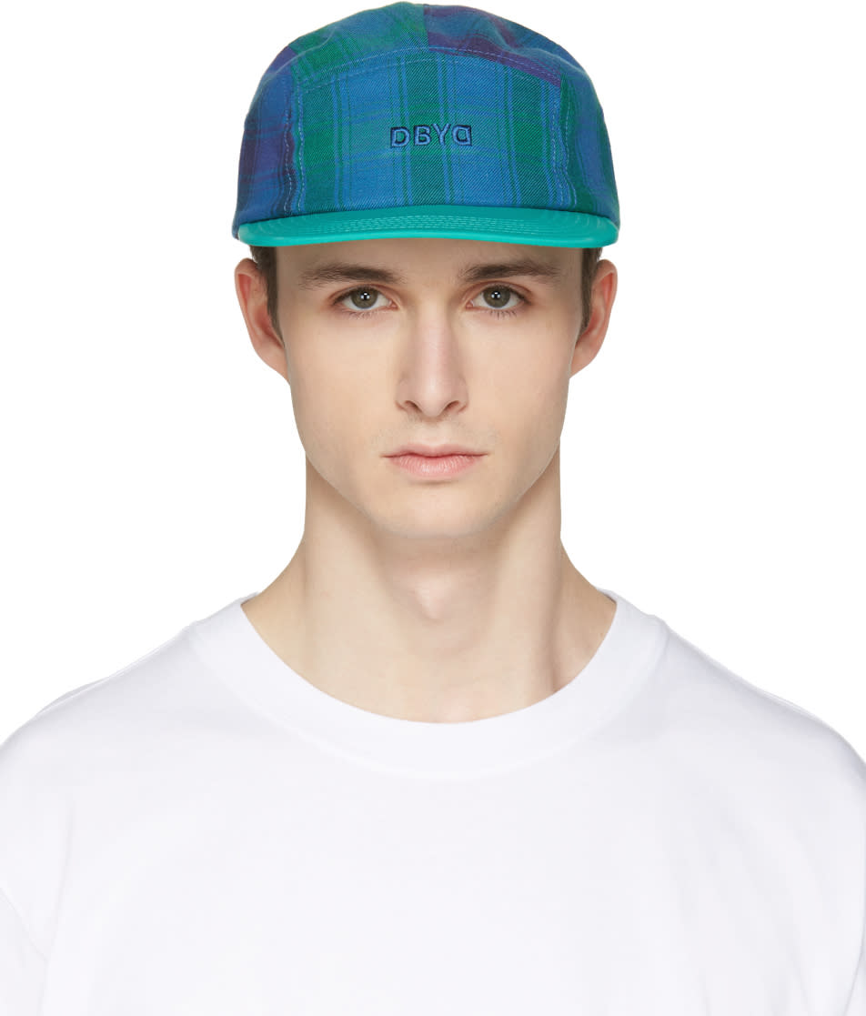 D By D Green Check Cap