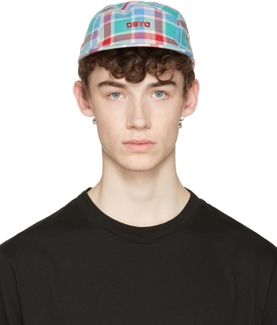 D By D Multicolor Check Cap