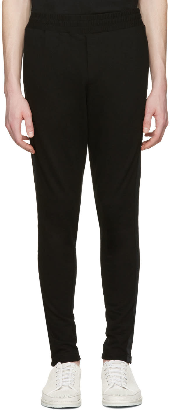 D By D Black Side Tape Lounge Pants